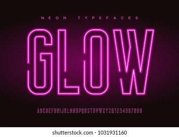 glowing letters images stock