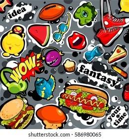 Street Food Graffiti