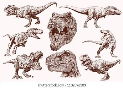 Realism Dinosaur Tattoo Designs