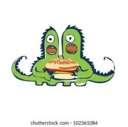 Junk Food Monsters Images Stock Photos & Vectors Shutterstock