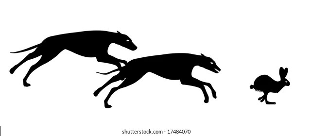 Greyhound Silhouette Images, Stock Photos & Vectors