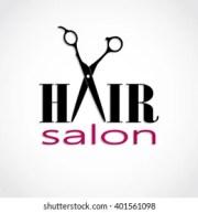 salon logo stock