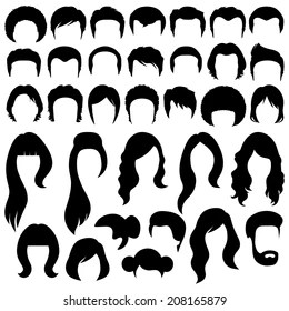 Female Head Silhouette Images, Stock Photos & Vectors