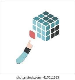 rubik cube logo images