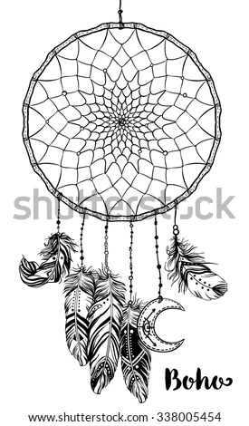 Hand Drawn Clip Art Native American Stock Vector (Royalty