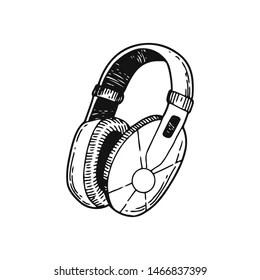 Gaming Headset Sketch