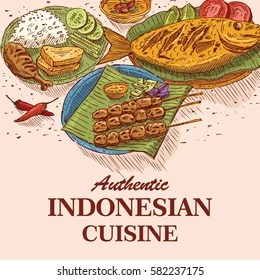Indonesian Food Illustration Images Stock Photos Vectors Shutterstock