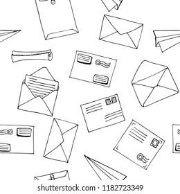 Cartoon Letter Envelope Images, Stock Photos & Vectors