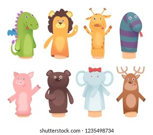 hand puppet images stock
