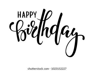 happy birthday cursive images