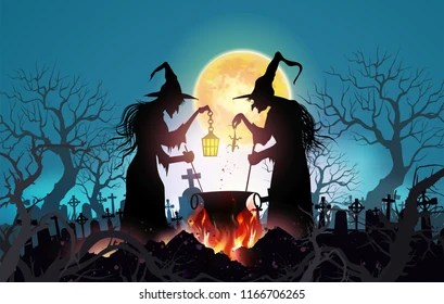 Fall Witch Wallpaper Witch Images Stock Photos Amp Vectors Shutterstock