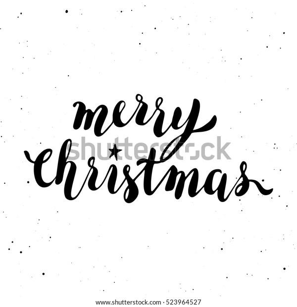 Merry Christmas Printable Template