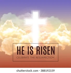 religious easter images stock