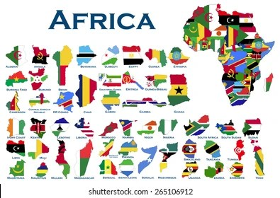 african countries images stock