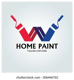 painting logo images stock