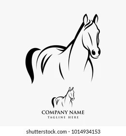 Girl Horse Silhouette Images, Stock Photos & Vectors