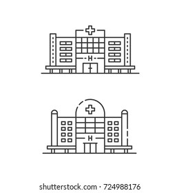 Hospital Building Images, Stock Photos & Vectors