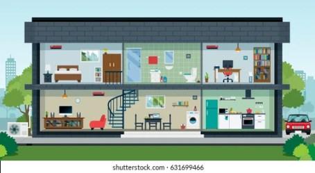 Imágenes fotos de stock y vectores sobre Interior De Casa Shutterstock