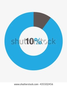 Icon pie black and blue chart percent vector also stock royalty free rh shutterstock
