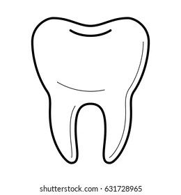 Smile Teeth Icon Outline Images, Stock Photos & Vectors