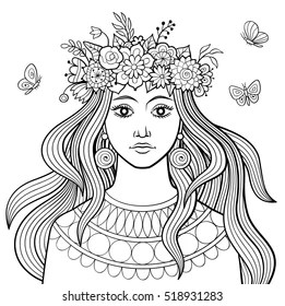 Adult People Coloring Pages Images Stock Photos Vectors Shutterstock