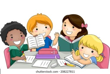 studying cartoon study together featuring vector shutterstock waiheke