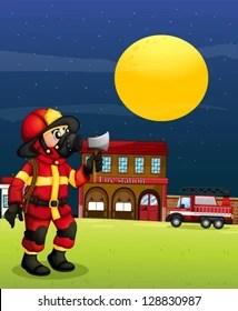 Fire Station Clipart : station, clipart, Station, Clipart, Stock, Images, Shutterstock