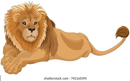 Lion Clipart Images Stock Photos Vectors Shutterstock