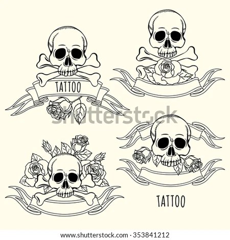 Skull Tattoo Patterns Free