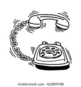 Telephone Ringing Images, Stock Photos & Vectors