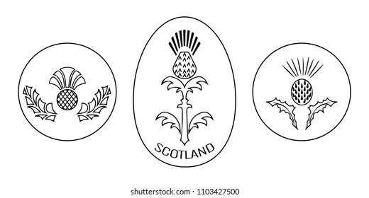 Emblem Of Scotland Images, Stock Photos & Vectors