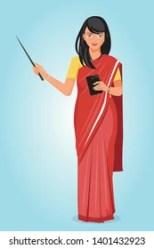 Indian Teacher Teaching Images Stock Photos & Vectors Shutterstock