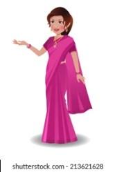 Indian Woman Teacher Stock Illustrations Images & Vectors Shutterstock
