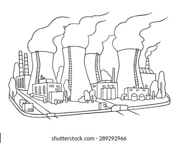 Cartoon Power Plant Images, Stock Photos & Vectors