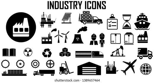 Manufacturing Symbol Images, Stock Photos & Vectors
