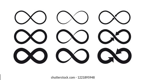 forever symbol images stock