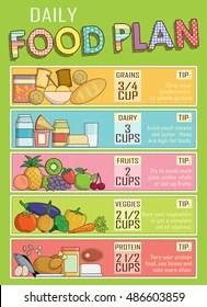 Kids Food Chart Images Stock Photos Vectors Shutterstock