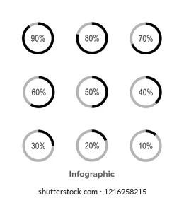 Similar Images, Stock Photos & Vectors of Set of circle