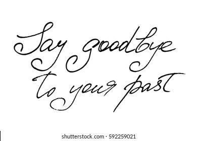 Saying Goodbye Stock Illustrations, Images & Vectors