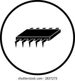 Semiconductor Icon Images, Stock Photos & Vectors