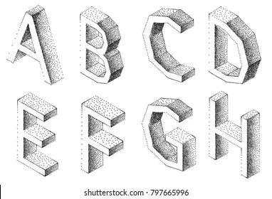 Interesting Font Стоковые изображения, изображения без