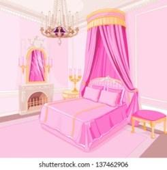 Pink Bed Cartoon Images Stock Photos & Vectors Shutterstock