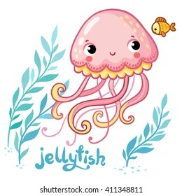 Jellyfish Cartoon Images Stock Photos Amp Vectors