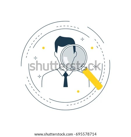 Job Recruitment Job Candidate Evaluation Flat Stock Vector