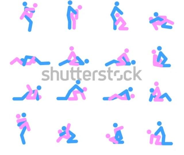 Kama Sutra Position Vector Illustration