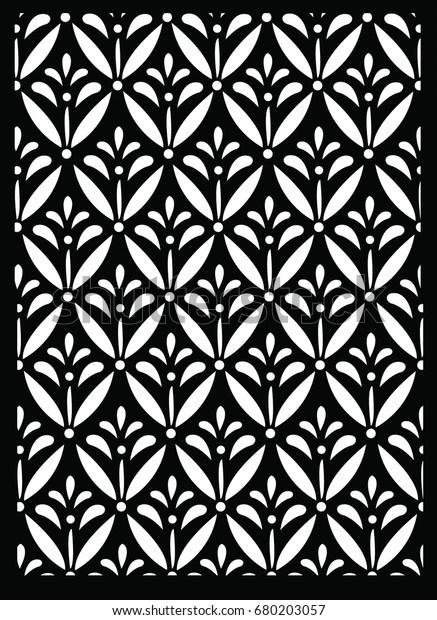 Vector Motif Batik : vector, motif, batik, Kawung, Indonesian, Batik, Black, White, Color, Stock, Vector, (Royalty, Free), 680203057
