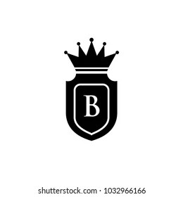 Letter B Logo with Crown Images, Stock Photos & Vectors