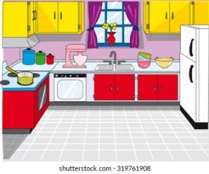 Cartoon Kitchen Images Stock Photos & Vectors Shutterstock