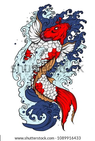 Tattoo Designs Koi Fish