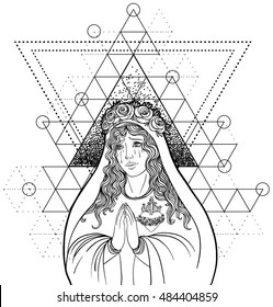 Bible Coloring Pages Stock Vectors, Images & Vector Art